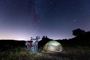 Motorrad-Zelt: welches Zelt für die Motorradtour?