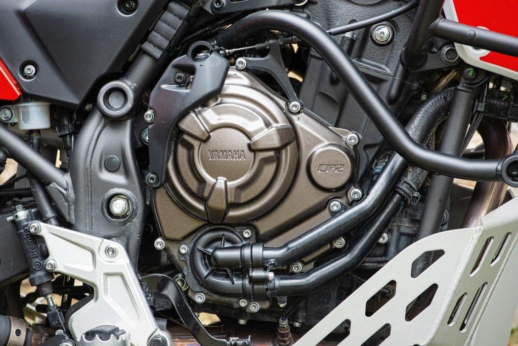CP2-Motor der YAMAHA Tenere 700.