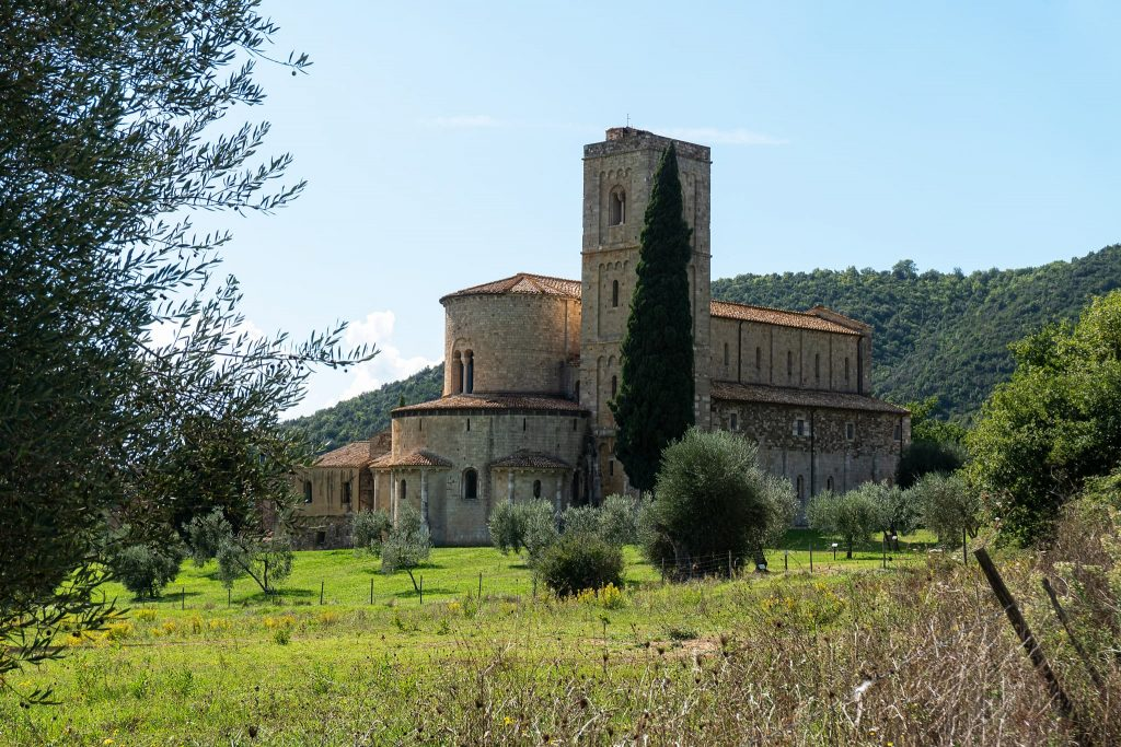 Abtei Sant Antimo.