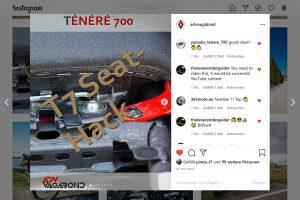 Read more about the article YAMAHA Ténéré 700 Sitzbank-Hack (Must Do!)