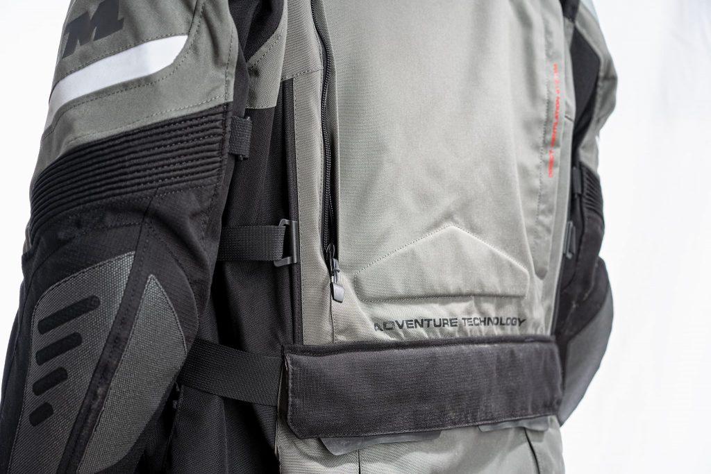 FLM Reise Textiljacke 2.0 Rückenbereich.