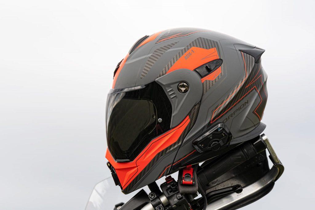 Scorpion ADX-1 ohne Helmschild.