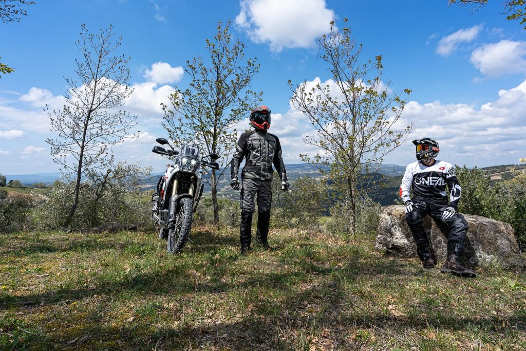 Motorrad Tourenbekleidung.