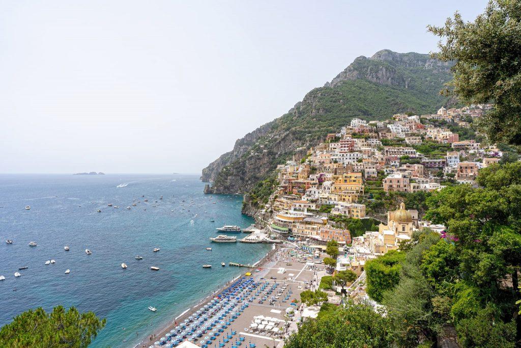 Amalfiküste Sehenswürdigkeit Positano.
