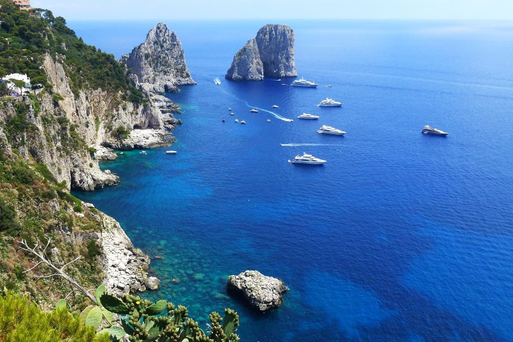 Insel Capri.