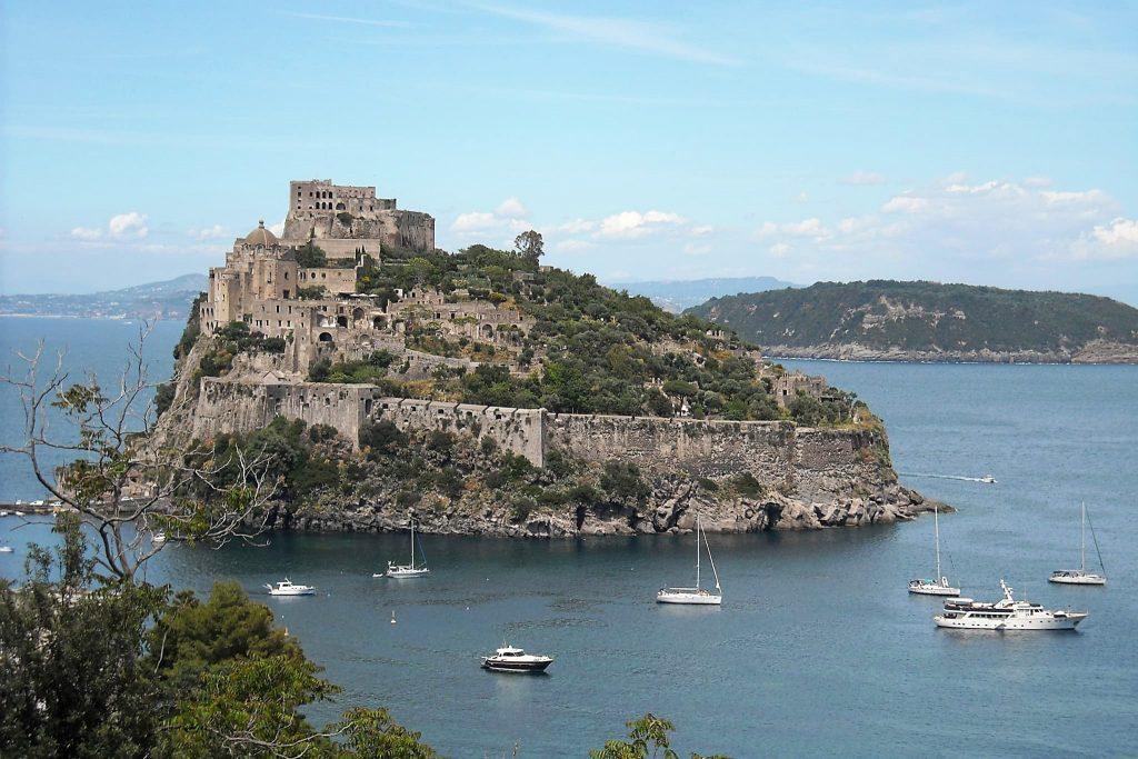 Ischia Castello Aragonese.