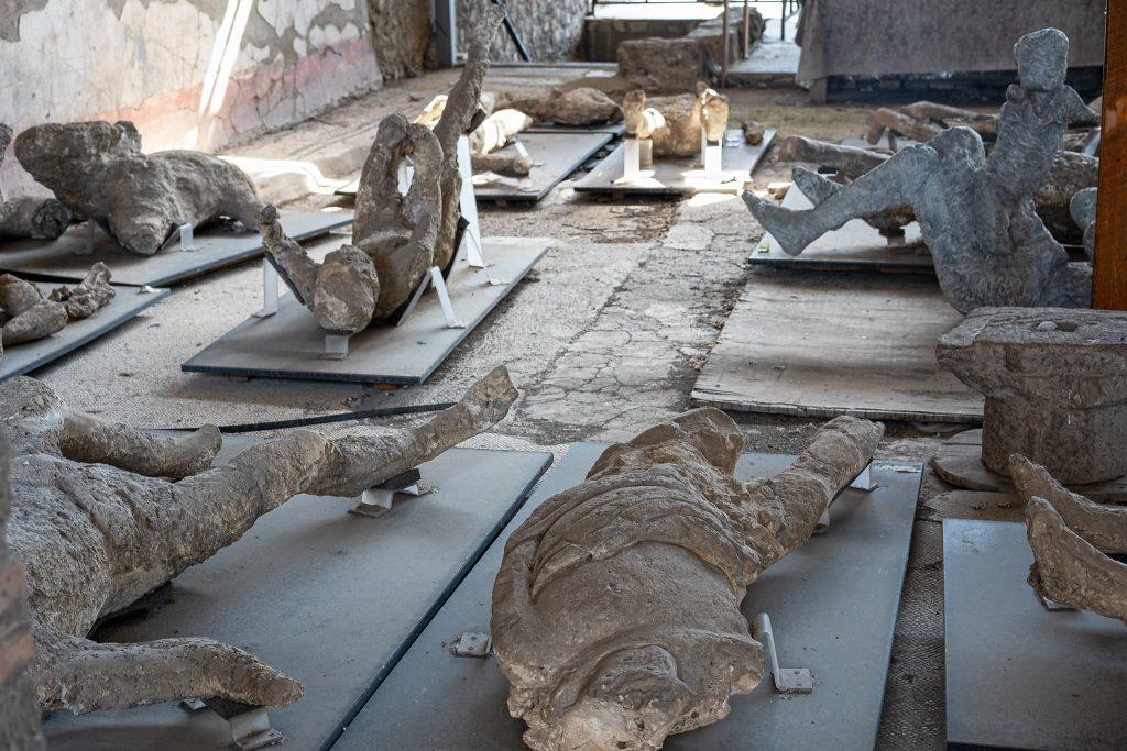 Pompeji Leichen.