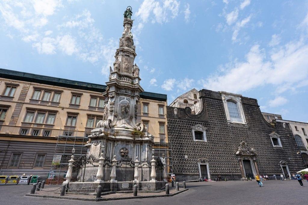 Piazza del Gesù Nuovo.